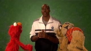 celebrity, Dwight Howard, Elmo, the Word on the Street, Strategy, Sesame Street Episode 4414 The Wild Brunch season 44