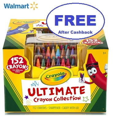 FREE Crayola Ultimate Crayon Collection 152 ct