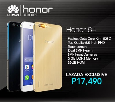 Huawei Honor 6 Plus Specs, Price and Availability