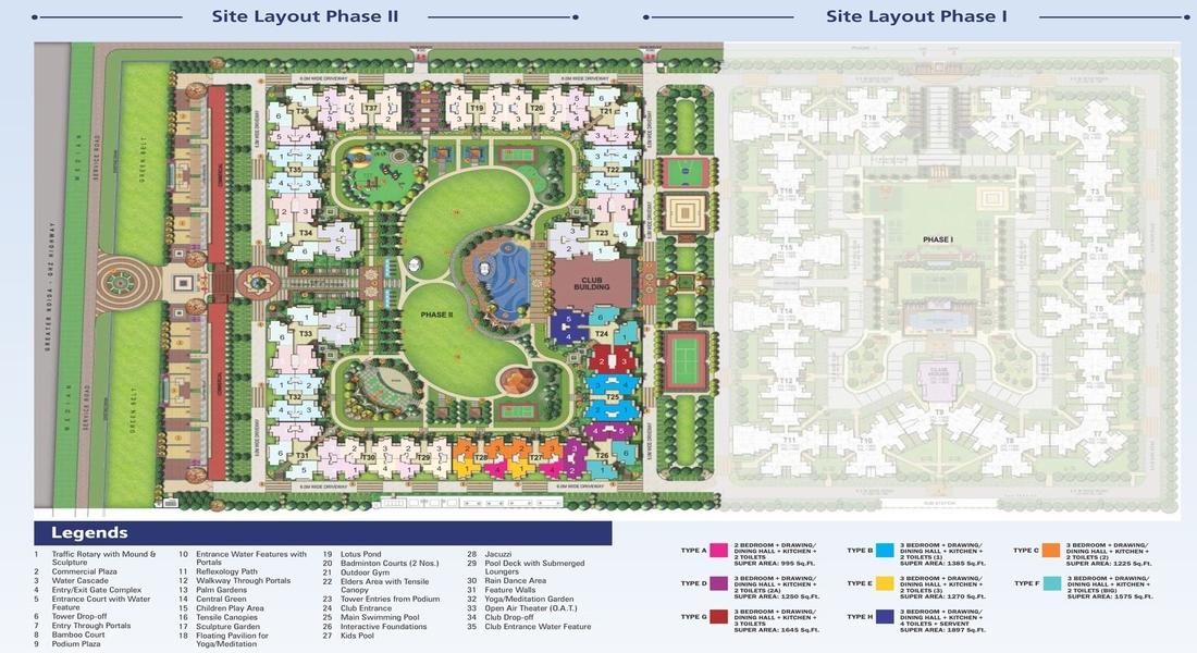 Nirala-estate-phase-2-site-plan