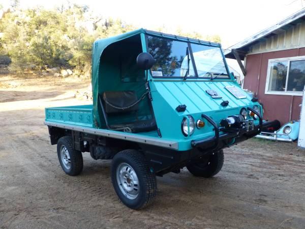 Super Rare 4x4 Car 1962 Steyr Puch Haflinger 4x4 Cars