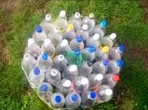 Produk Kerajinan Tangan, Cara Membuat Kursi Dari Botol Bekas 1