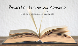 Contact me for private tutoring