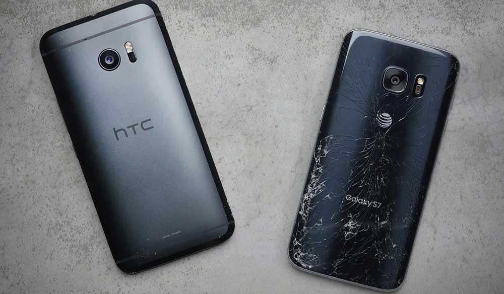 HTC 10 ve Galaxy S7 Drop Test!, Dayanıklılık Testi