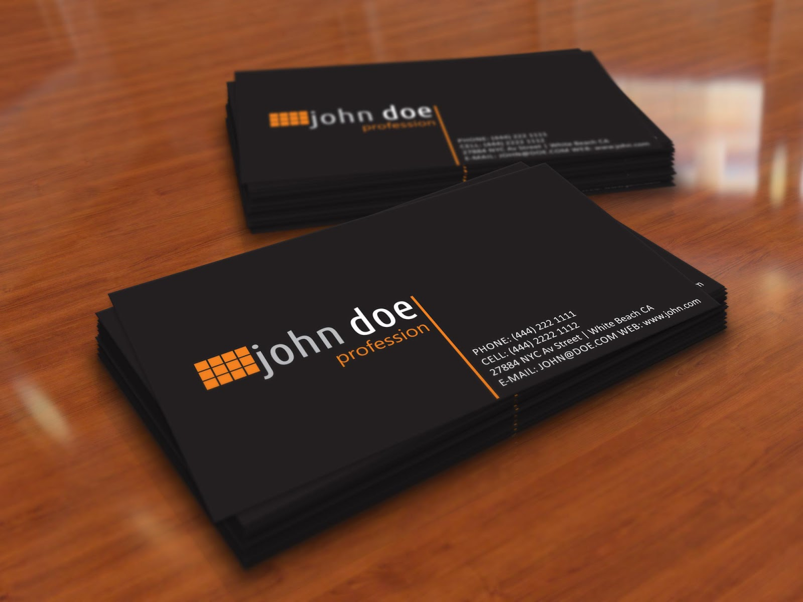 Black Business Cards Business Card Tips