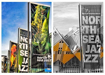 Banners North Sea Jazz Festival 2015 en Rotterdam – Casas cubicas