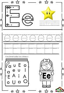 vocales para imprimir pdf gratis