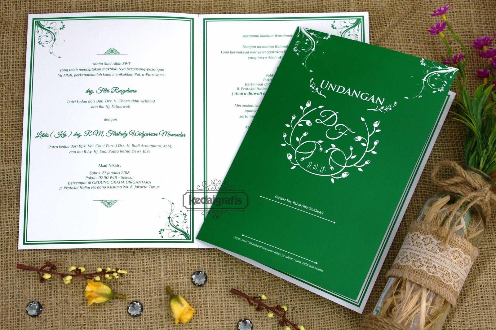 Contoh Surat Undangan Pernikahan Unik Suratmenyurat Net