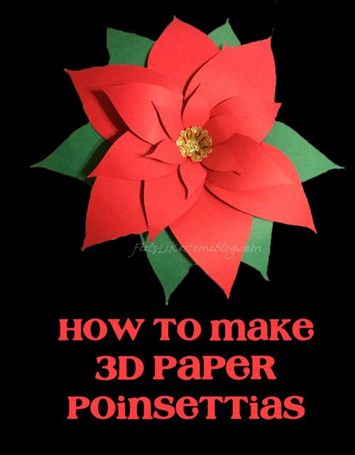 12 Poinsettia Crafts For Christmas Planet Smarty Pants