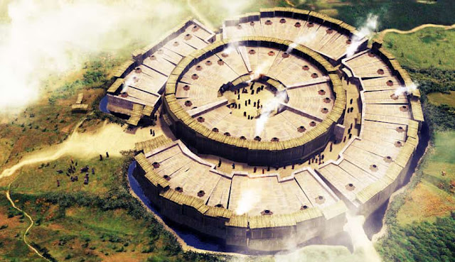 Bí ẩn cánh cửa không gian với năng lượng kỳ lạ ở thành cổ Arkaim, nước Nga