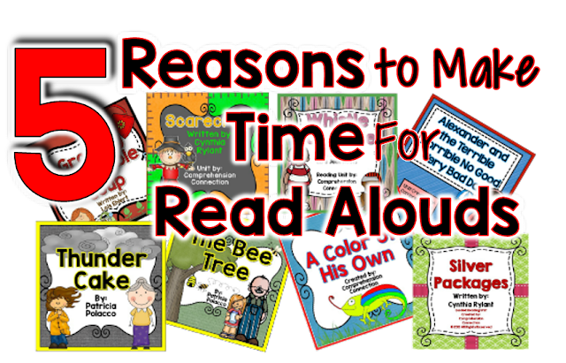 Who thinks read alouds should be part of daily instruction? ME! This post explains how read alouds can be used for direction instruction and more. Check it out!