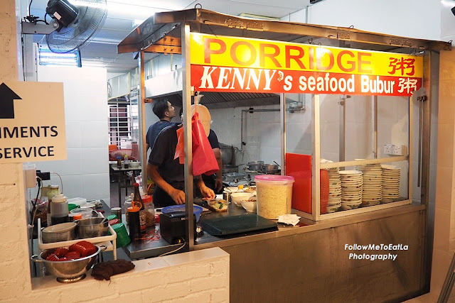 Food Cart - Kenny's Seafood Bubur