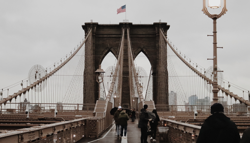 Brooklyn Bridge Walkway NYC