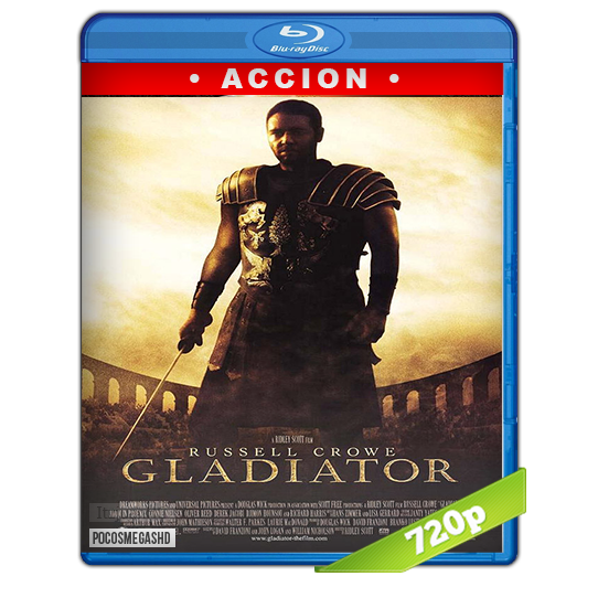 Gladiador (2002) BRRip 720p Audio Dual Latino-Ingles
