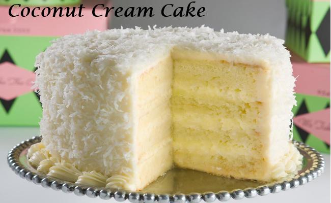 coconut cream cake - Grandmother recipes
