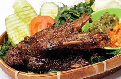 resep bebek bakar empuk dan enak