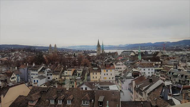 Dove vedere Zurigo dall'alto