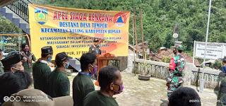 Apel Siaga Destana Kewaspadaan Dini Antisipasi Bencana