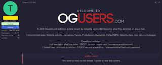 OGUsers databased Hacked