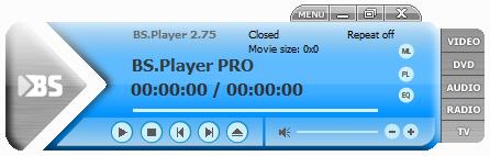 Screenshot BS.Player Pro 2.75 Build 1088 Full Version