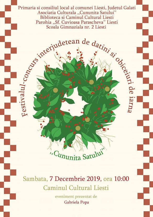Festivalul-Concurs Interjudețean de Datini și Obiceiuri de Iarnă Cununița Satului aflat la cea de-a VII-a ediție