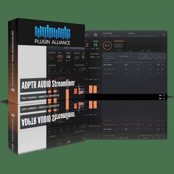 ADPTR Audio Streamliner v1.0.0 Full version