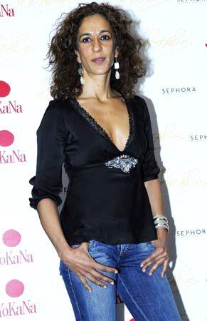 Foto de Rosario Flores con jean