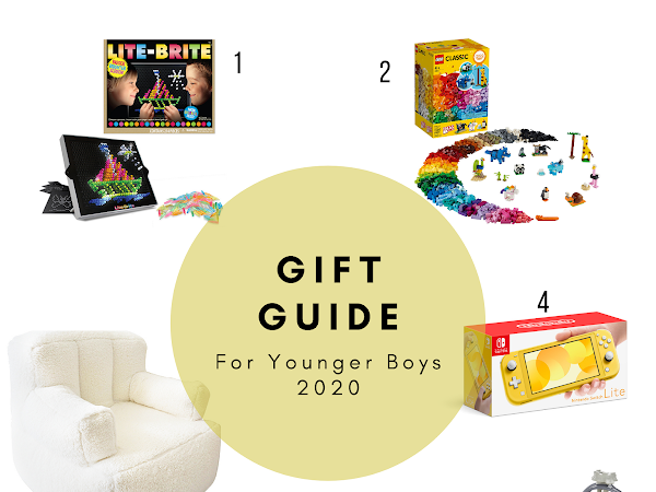 GIFT GUIDE FOR YOUNGER BOYS (AGES 4-10)