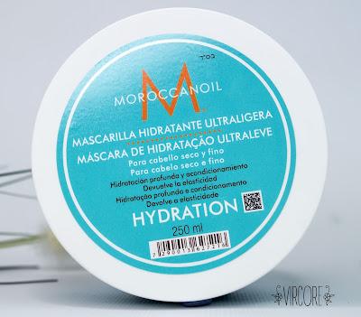 Moroccanoil  mascarilla hidratante ultraligera
