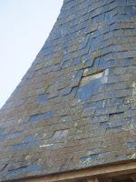 clocher église de Corny 27 détail