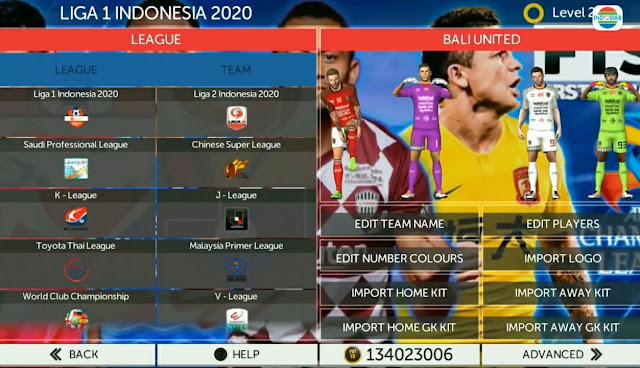 FTS Mod PES 2021