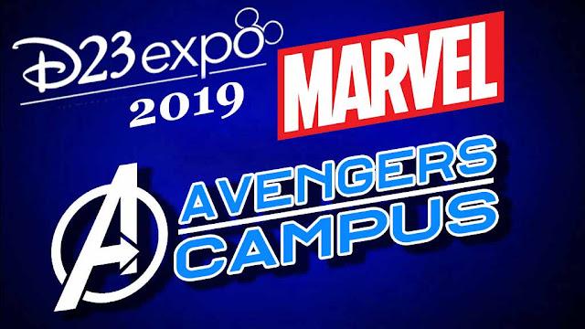D23 Expo 2019 Marvel attractions, Disneyland California Avengers Campus