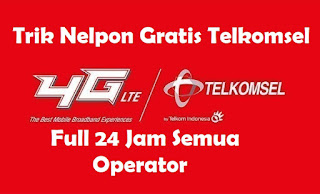 Trik Nelpon Gratis Telkomsel Full 24 Jam