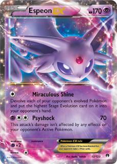 Espeon EX BREAKpoint Pokemon Card