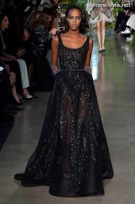 Vestidos de novia negro