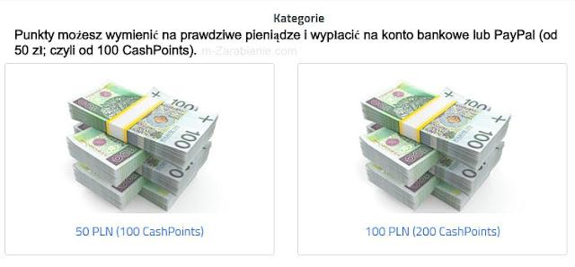 SwPanel, wypłata pieniędzy.