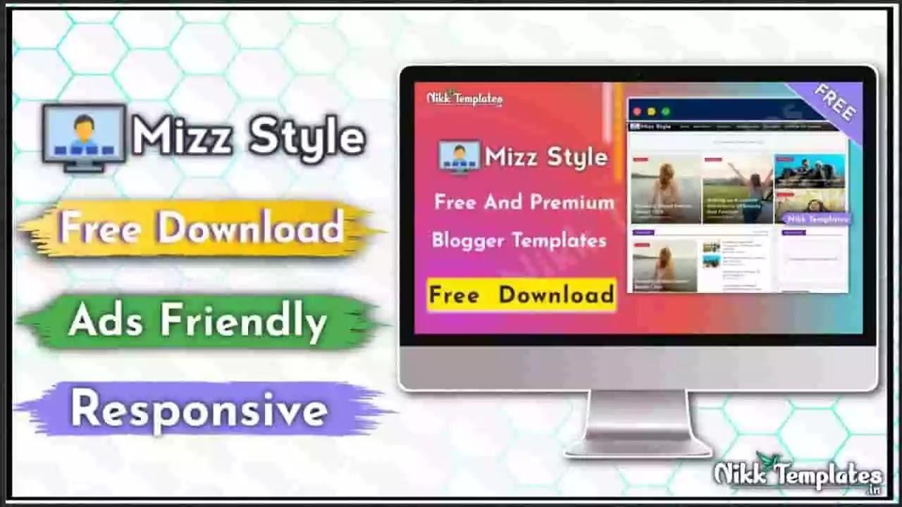 Mizz Style - Responsive Blogger Template - Nikk Templates