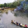 Belum Diresmikan, Danau Shuji Lembak Sudah Dipenuhi Wisatawan