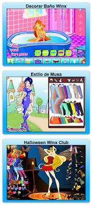 Juegos de vestir a las Winx Club gratis