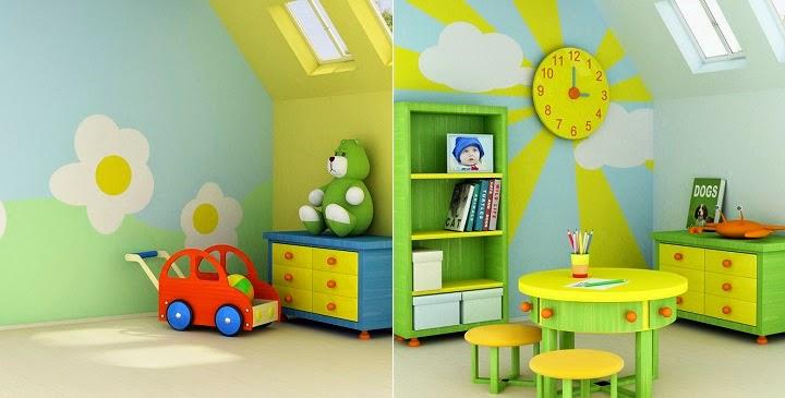 Marzua ideas para pintar una habitaci n infantil - Pintar habitaciones infantiles ...