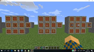 Minecraft crafting deszka lap