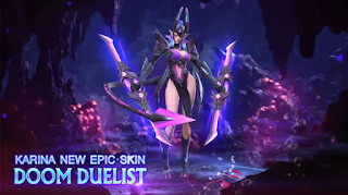 How to get the epic Karina Doom Duelist skin for free