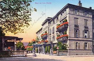 Hôtel Baur au Lac um 1928