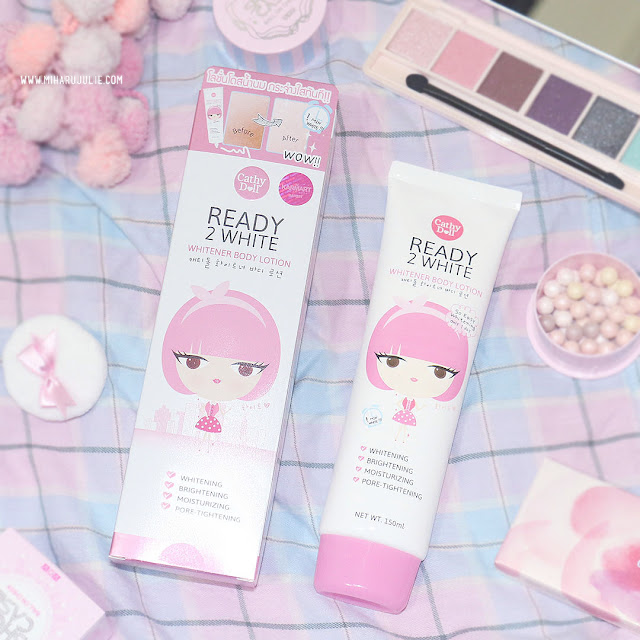Cathy Doll Ready 2 White - Whitener Body Lotion Review