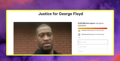 image result for george floyd petition