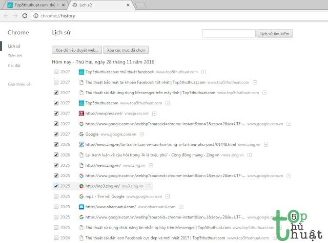 Thủ thuật sử dụng Google Chorme hiệu quả