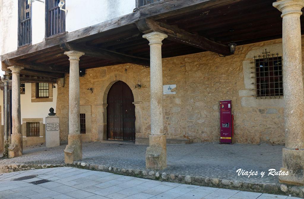 Casa de Jeromín, Plaza Juan de Austria de Cuacos de Yuste