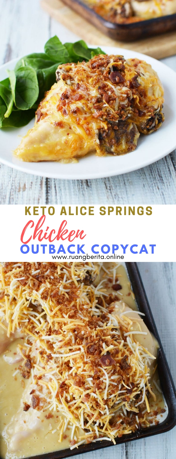 Keto Alice Springs Chicken (Outback Copycat Recipe) #maincourse #dinner #keto #alice #spring #chicken #copycat