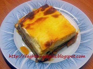Μουσακάς χωρίς κιμά (γιαλαντζί ή φτωχός) - από «Τα φαγητά της γιαγιάς»