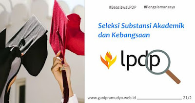 Seleksi Substansi Akademik Beasiswa LPDP